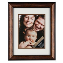 Studio Décor Portrait Collection Bronze Frame With Mat
